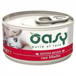 Oasy Wet Cat Mousse Vitello 85 gr