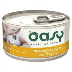 Oasy Wet Cat Mousse Fegato 85 gr
