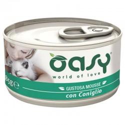 Oasy Wet Cat Mousse Coniglio 85 gr