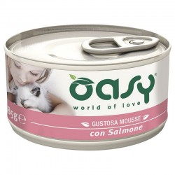 Oasy Wet Cat Mousse Salmone 85 gr