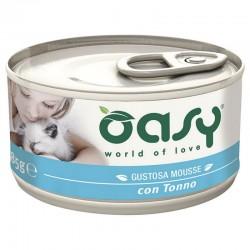 Oasy Wet Cat Mousse Tonno 85 gr