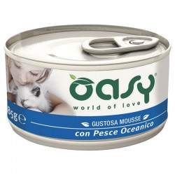 Oasy Wet Cat Mousse Pesce Oceano 85 gr