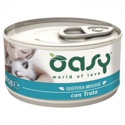 Oasy Wet Cat Mousse Trota 85 gr