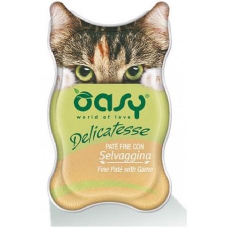 Oasy Delicatesse Patè con Selvaggina 85 gr