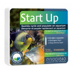 Prodibio Start Up 12 fiale batteri anti ammoniaca per acquario dolce e marino