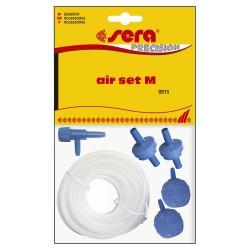 Sera Air Set M Kit Aeratore per Acquario con Tubo e Pietra Porosa