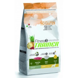 Trainer Fitness 3 Adult Mini No Gluten Anatra 2 Kg