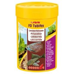 Sera Tubifex 100 ml 12g Mangime energetico per Pesci Acquario