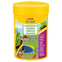 Sera FD Krill 100 ml 15g mangime vigoroso per pesci acquario dolce e marino