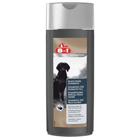 8in1 Shampoo per Pelo Scuro 250 ml cane