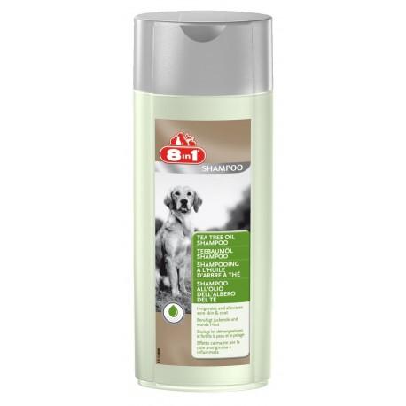 8in1 Shampoo all'olio dell'albero del Thé 250 ml per cane