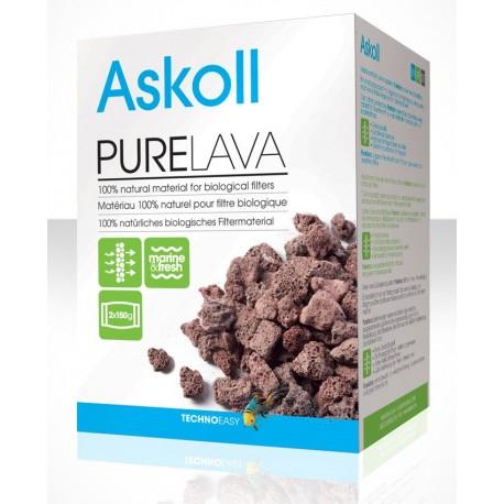 Askoll Pure Lava 300gr materiale filtrante per filtro acquario dolce e marino