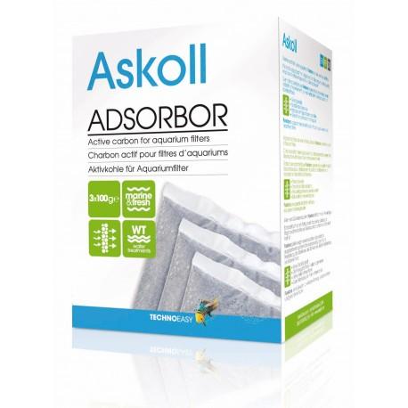 Askoll Adsorbor 300gr Carbone Attivo per Filtro Acquario