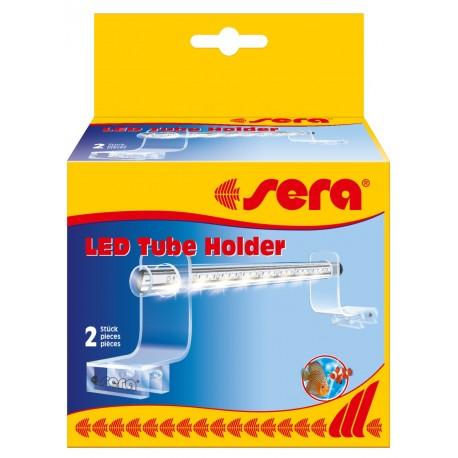 Sera LED Tube Holder Clear Supporto per Tubi a Led per Vasca Aperta