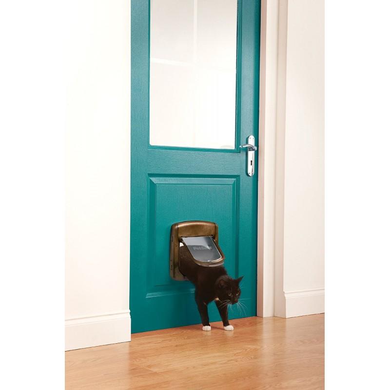 Staywell deluxe 320 porta per gatti grandi - Porta per gatti ...
