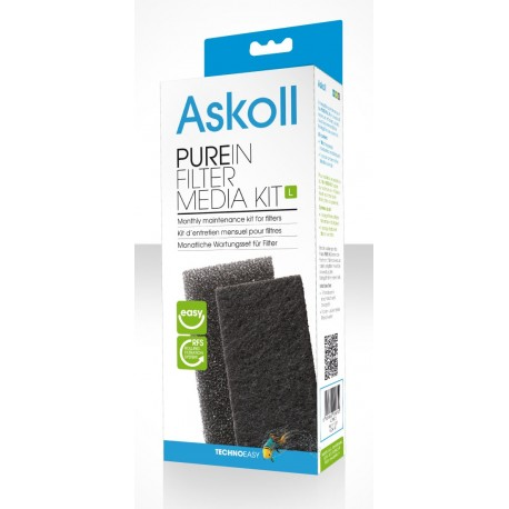 Askoll Pure IN Filter Media Kit L Ricambio per filtro Pure In L