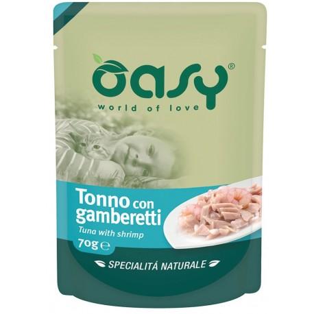 Oasy Specialità Naturale Busta al Tonno e gamberetti 70 gr
