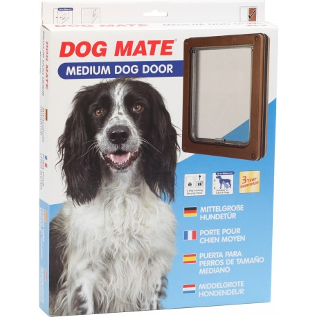 Dog Mate 215 Marrone Porta Basculante per Cani Taglia Media fino a 12 kg