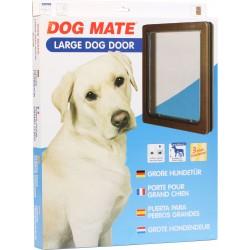 Dog mate 216 porta basculante per cani grandi for Porta basculante per cani grandi con microchip