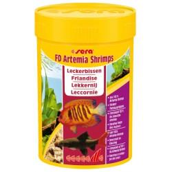 Sera FD Artemia Shrimps 100 ml 7g Mangime per Pesci