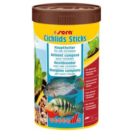 Sera Cichlids Sticks 250 ml 52g Mangime per Pesci Acquario