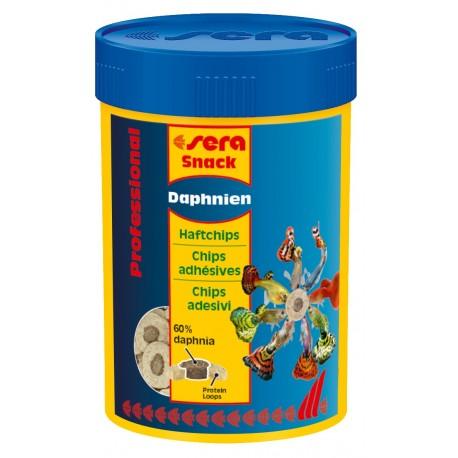 Sera Snack Daphnien Professional 100 ml Chips Adesivi per Pesci