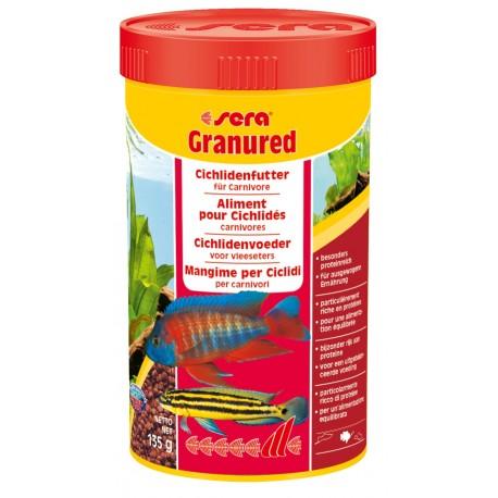 Sera Granured 250 ml 135g Mangime in granuli per CICLIDI pesci