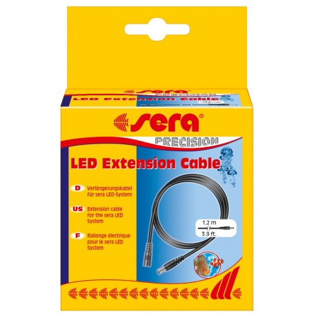 Sera LED Extension Cable Prolunga per Led Tubes 1.2 Metri
