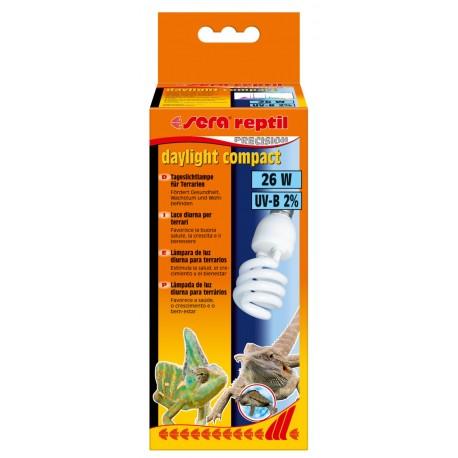 Sera Reptil Daylight Compact 2% UV-B 26w Lampada diurna per Rettili
