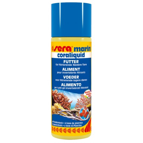 Sera Marin Coraliquid 100 ml Mangime Liquido Invertebrati