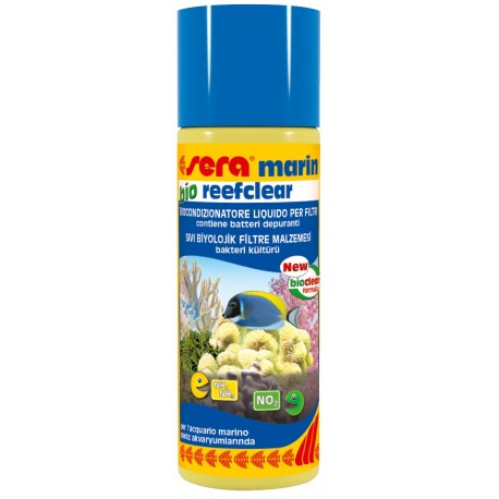 Sera Bio Reefclear 100 ml Batteri per Acquario Marino