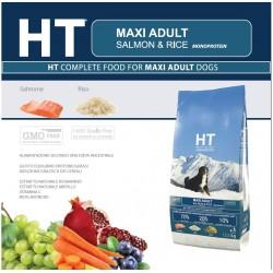 HT Dog Maxi Adult Salmone e Riso 12,5 kg Crocchette per Cani
