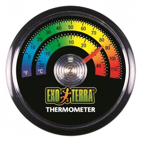 Exo Terra Termometro Analogico Tondo per Terrario Rettili