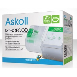 Askoll Robofood 3 Mangiatoia Automatica per Pesci Acquario