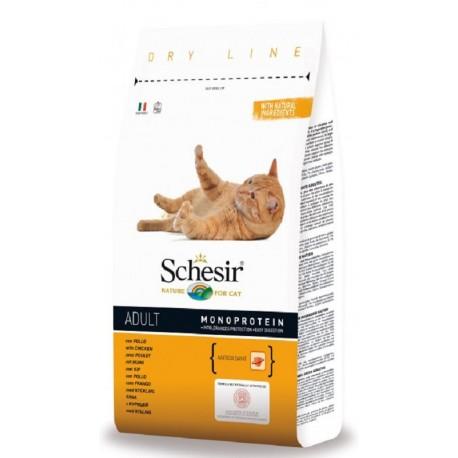 Schesir Cat Dry Adult Pollo 10 kg Crocchette per Gatti