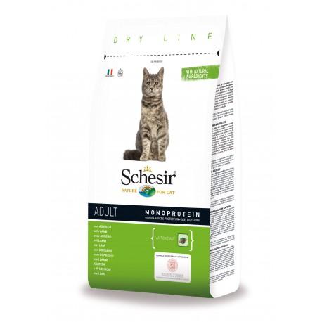 Schesir Cat Dry Adult Agnello 1,5 kg Crocchette per gatti