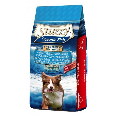 Stuzzy Dog Ocean Fish con Pesce Oceanico 12 Kg Crocchette per Cani