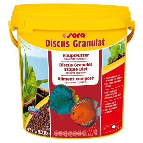 Sera Discus Granulat 10 litri 4,2kg Mangime in Granuli per Ciclidi e Discus