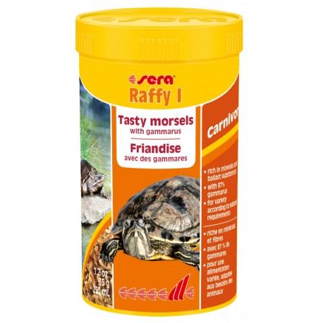 SERA Raffy I 250 ml 35g Mangime in Gamberetti per Tartarughe Carnivore