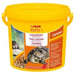SERA Raffy I 3800 ml 370g Mangime in Gamberetti per Tartarughe Carnivore