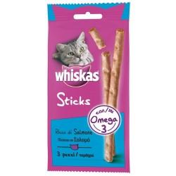 Whiskas Sticks con Salmone 18g - Snack per Gatti