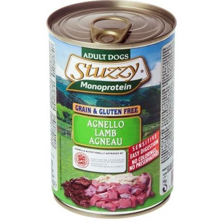 Stuzzy Dog Monoprotein Agnello 400 gr Cibo Umido per Cane