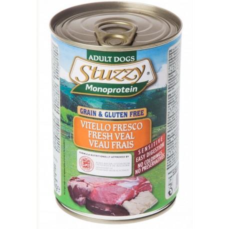 Stuzzy Dog Monoprotein Vitello Fresco 400 gr Cibo Umido per Cane