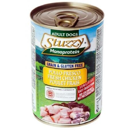 Stuzzy Dog Monoprotein Pollo Fresco 400 gr Cibo Umido per Cane