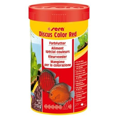 Sera Discus Color Red 250 ml 112g Mangime Granulare per Discus
