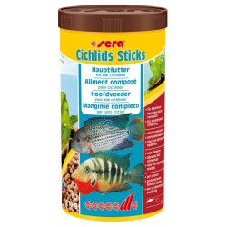 Sera Cichlids Sticks 1000 ml 210g Mangime per Pesci Acquario