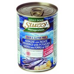 Stuzzy Dog Monoprotein Aringhe con Patate 400 gr Cibo Umido per Cane