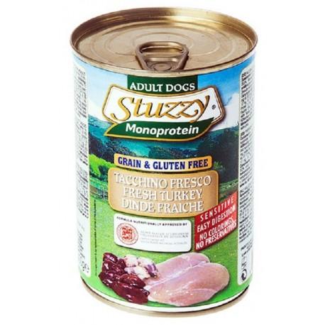 Stuzzy Dog Monoprotein Tacchino 400 gr Cibo Umido per Cane