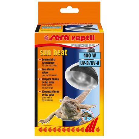 Sera Reptil Sun Heat 100 W Luce Diurna Solare per Rettili