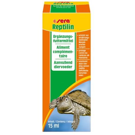 Sera Reptilin 15 ml Vitamine per Rettili